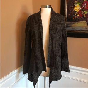 89th & Madison asymmetrical hem sweater L